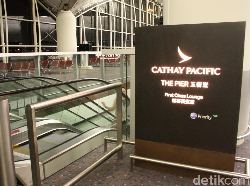 Mengintip Kemewahan First Class Lounge Cathay Pacific.