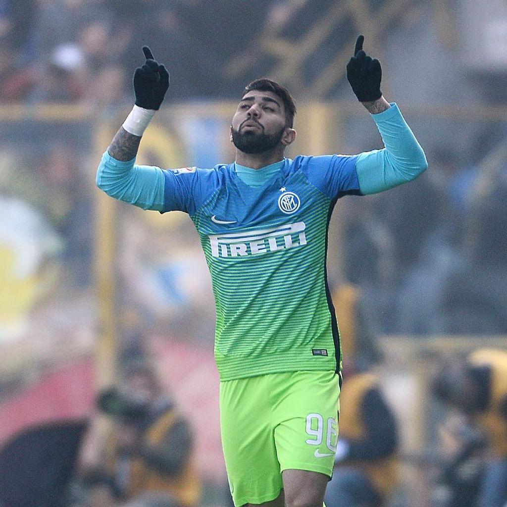 Cetak Gol Debut, Gabigol Traktir Seluruh Pemain Inter