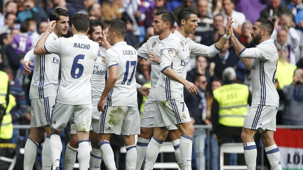 Madrid Buat Rekor Baru Usai Kalahkan Espanyol