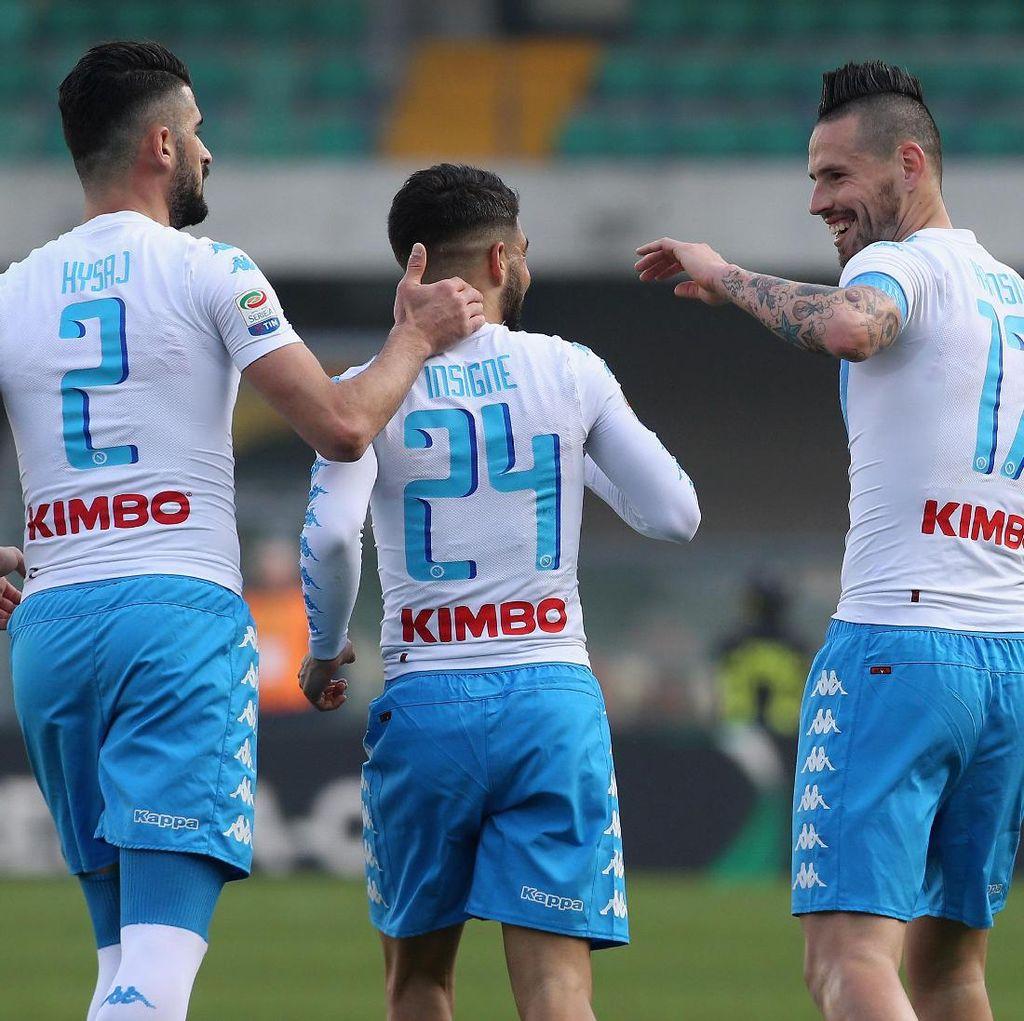 Napoli Tekuk Chievo 3-1