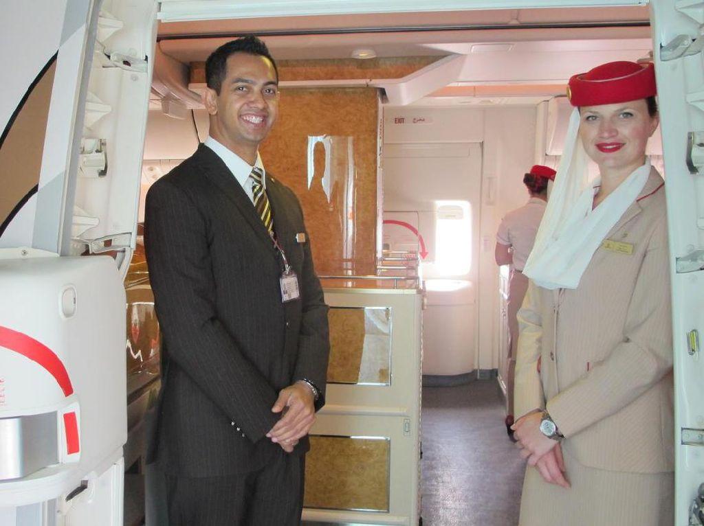 Merasakan Kelas Bisnis Emirates Jakarta-Dubai