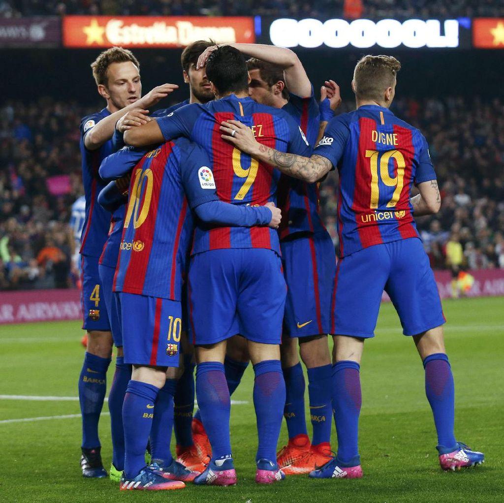 Barca Minim Pemain Spanyol dan Camp Nou yang Sepi Penonton