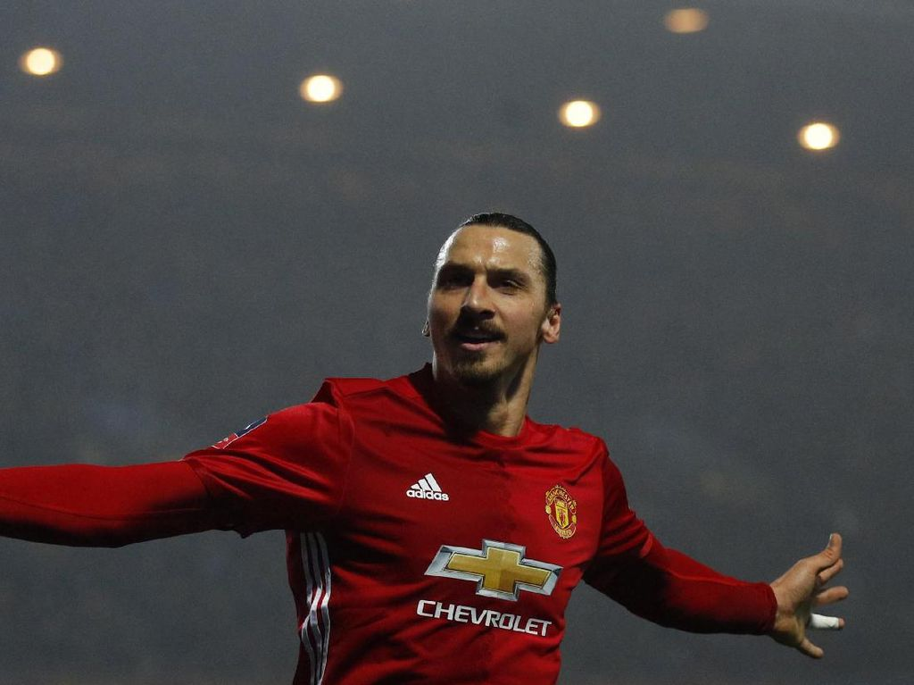 Zlatan Si Penentu Kemenangan Ibrahimovic