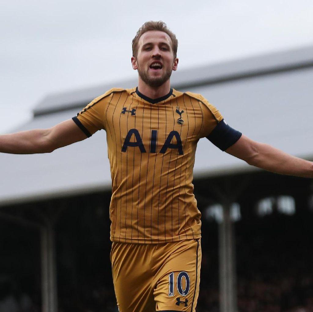 <i>Hat-trick</i> Kane: Kelima untuk Spurs, Pertama ke Gawang Tim London