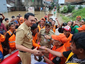 Jakarta Banjir, Ahok Meminta Maaf Khususnya kepada Para Ibu