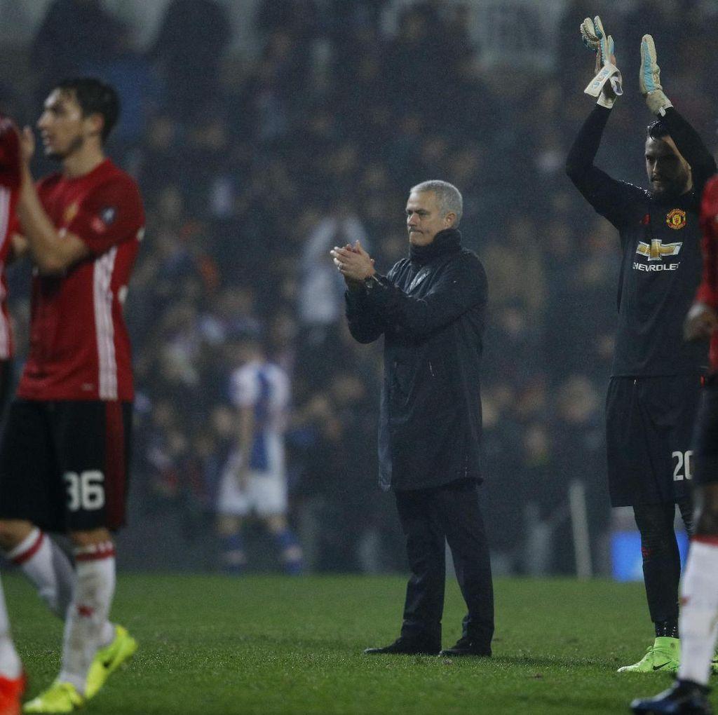 Mourinho Senang dengan Sikap Pemain MU Usai Kebobolan