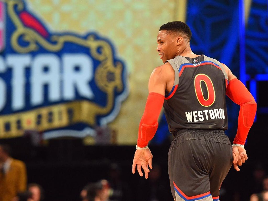 Ketika Westbrook Nyaris Cetak Rekor Poin All-Star