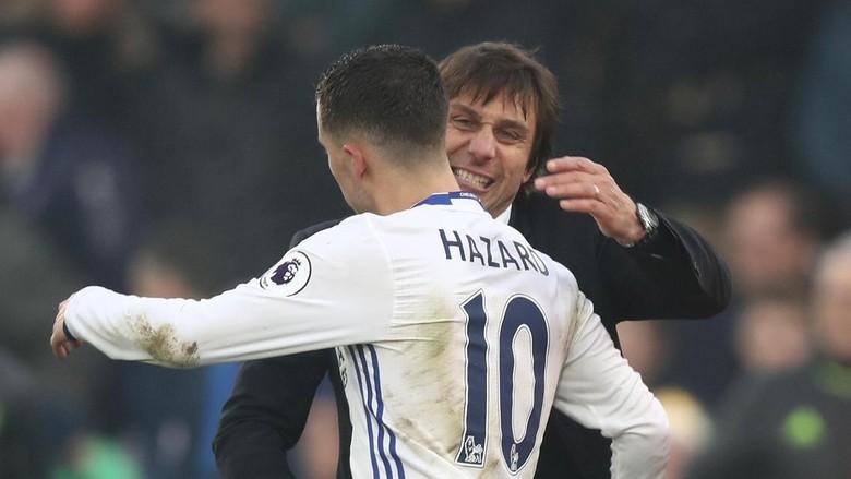 Beda Mourinho dan Conte di Mata Hazard