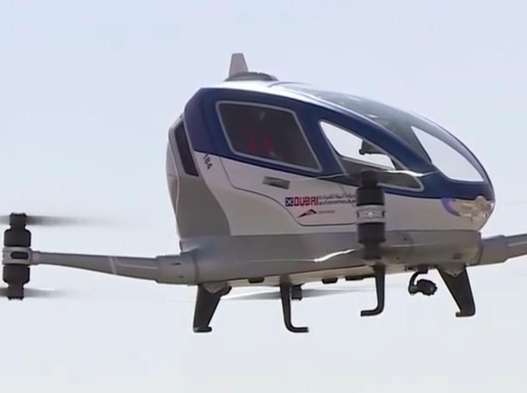 Paris Ingin Hadirkan Taksi Terbang di Olimpiade 2024
