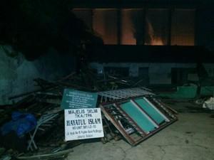Bangunan Sekolah di Pejaten Roboh Akibat Hujan, Tak Ada Korban