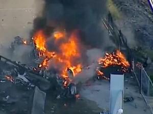 Kecelakaan Pesawat di Melbourne, 5 Orang Tewas