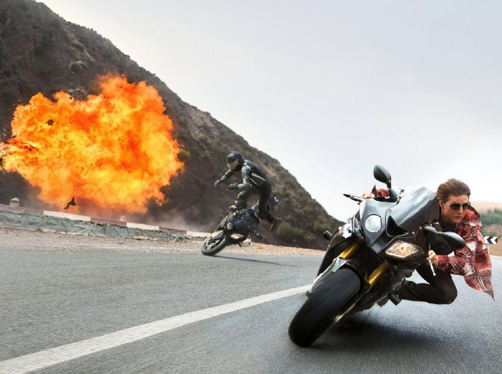 Tom Cruise Kembali Syuting Mission Impossible: 6
