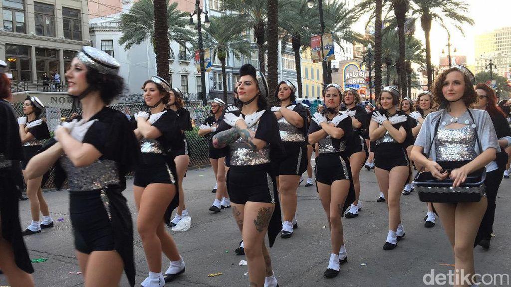 Pesta Mardi Gras di New Orleans, dari Mabuk Sampai Bugil
