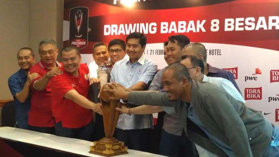 Semen Padang vs Bhayangkara FC, Sriwijaya FC vs Arema FC di Perempatfinal