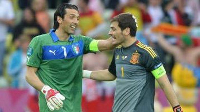 Casillas Mengenang Salah Satu Duelnya dengan Buffon