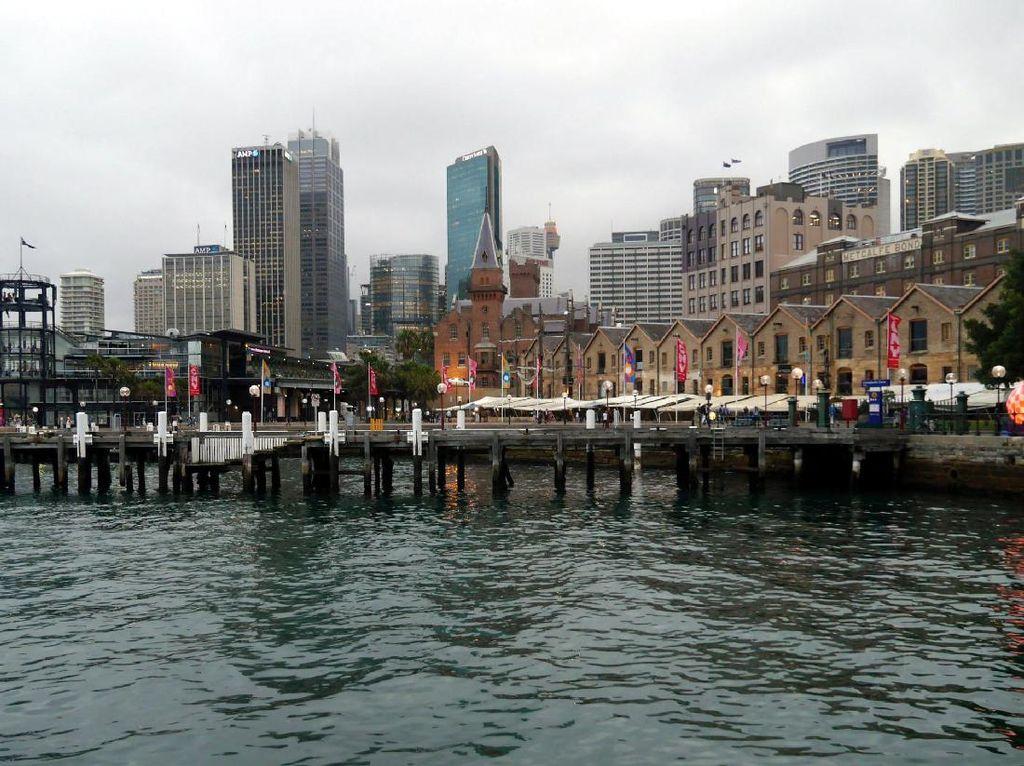 Modern & Bersih, Pelabuhan Sydney Ini Layak Dicontoh Indonesia