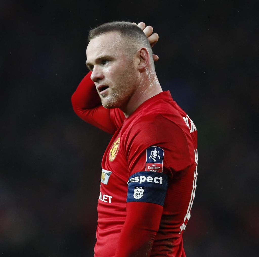 Belum Fit, Rooney Mungkin Absen di Final Piala Liga Inggris