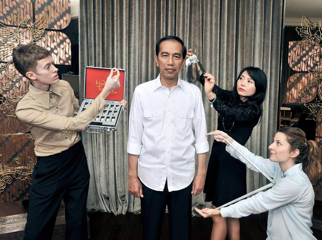 Musim Panas Ini, Patung Jokowi Akan Dirilis di Madame Tussauds Hong Kong