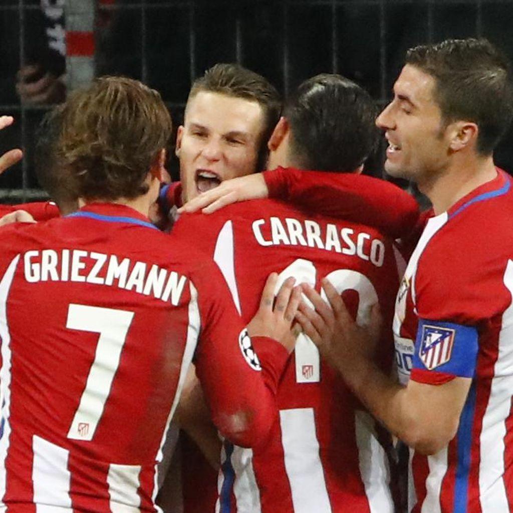 Atletico Bertekad Gusur Sevilla dari Tiga Besar