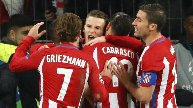 Atletico Berniat Rebut Posisi Ketiga Dari Sevilla