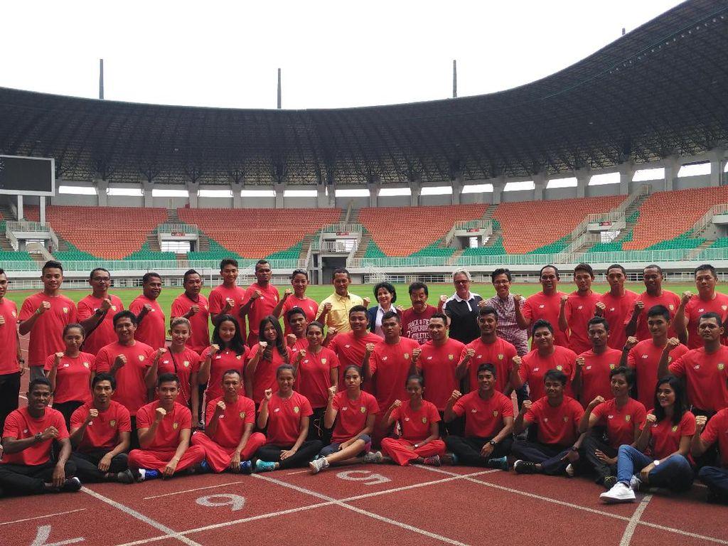 Januari, Cabor Atletik Bisa Gunakan Trek Stadion Madya dan GBK