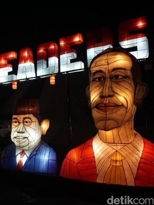 7 Wajah Presiden RI di Taman Pelangi Jogja