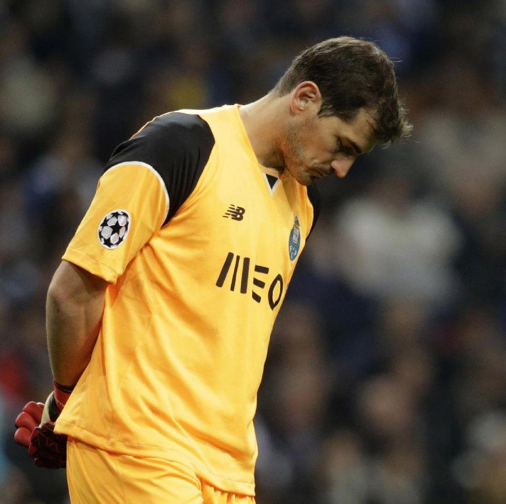 Casillas: Kartu Merah Telles Menyulitkan Porto