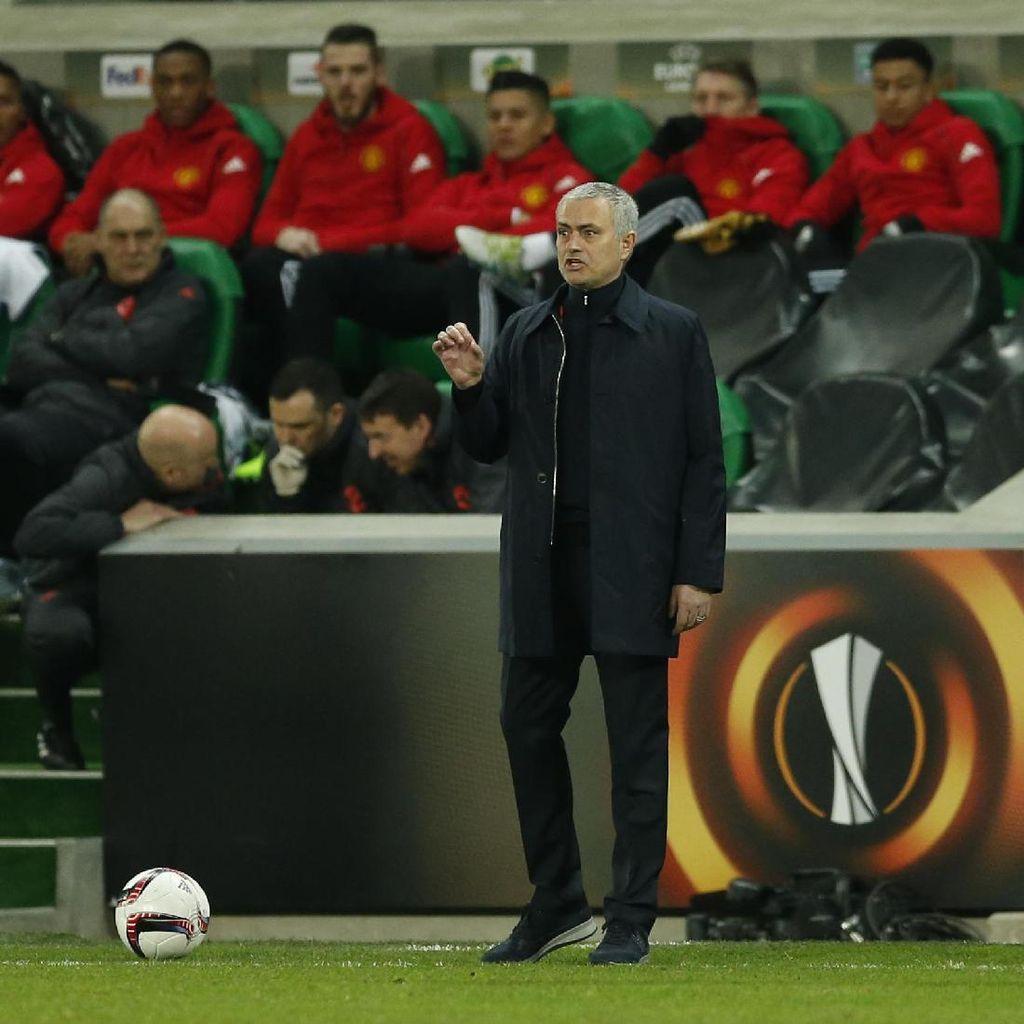 Mourinho: MU Tampil Solid, Fokus, dan Profesional
