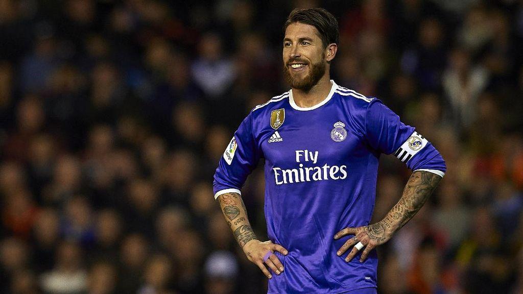 Setelah Pensiun, Ramos Mau Jadi Pelatih atau Presiden Madrid?