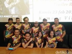 Ringgo Agus Rahman Pimpin Grup Korban Sakit Hati di Trailer Baracas