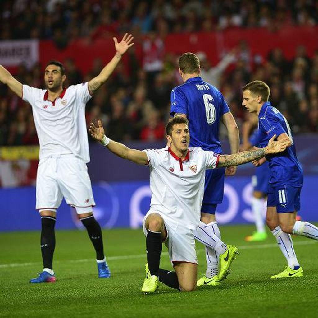Tatap Leg II, Sevilla Diminta Cetak Gol Sebanyak-banyaknya ke Gawang Leicester