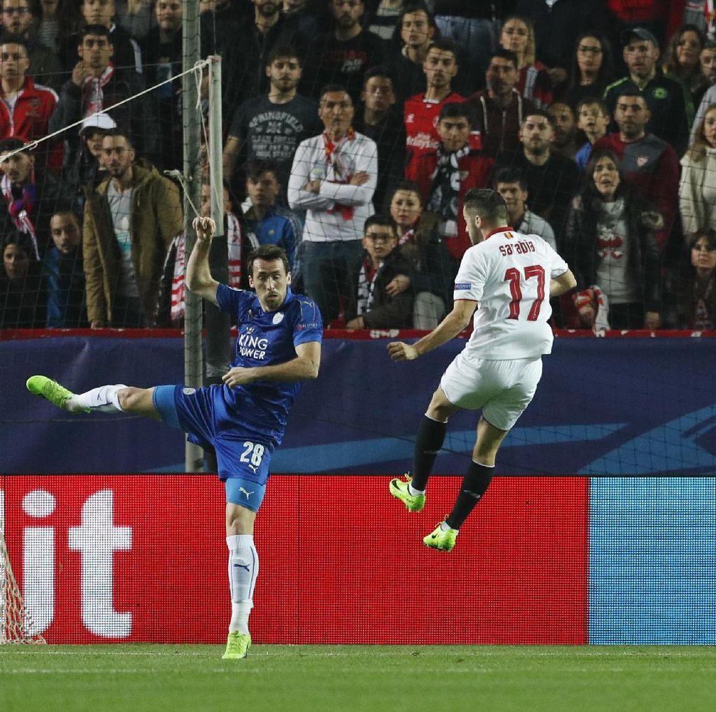 Sevilla Sementara Ungguli Leicester 1-0
