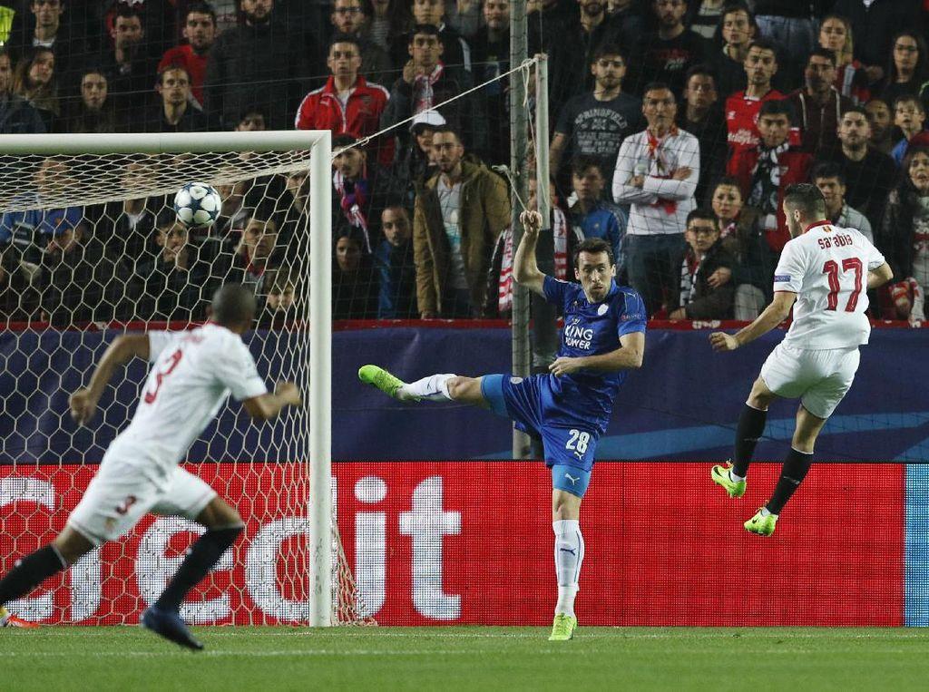 Duel di Kandang, Sevilla Hajar Leicester