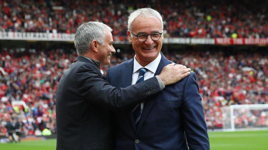 Mourinho kepada Ranieri: Tak Ada yang Bisa Menghapus Sejarah yang Kau Tulis