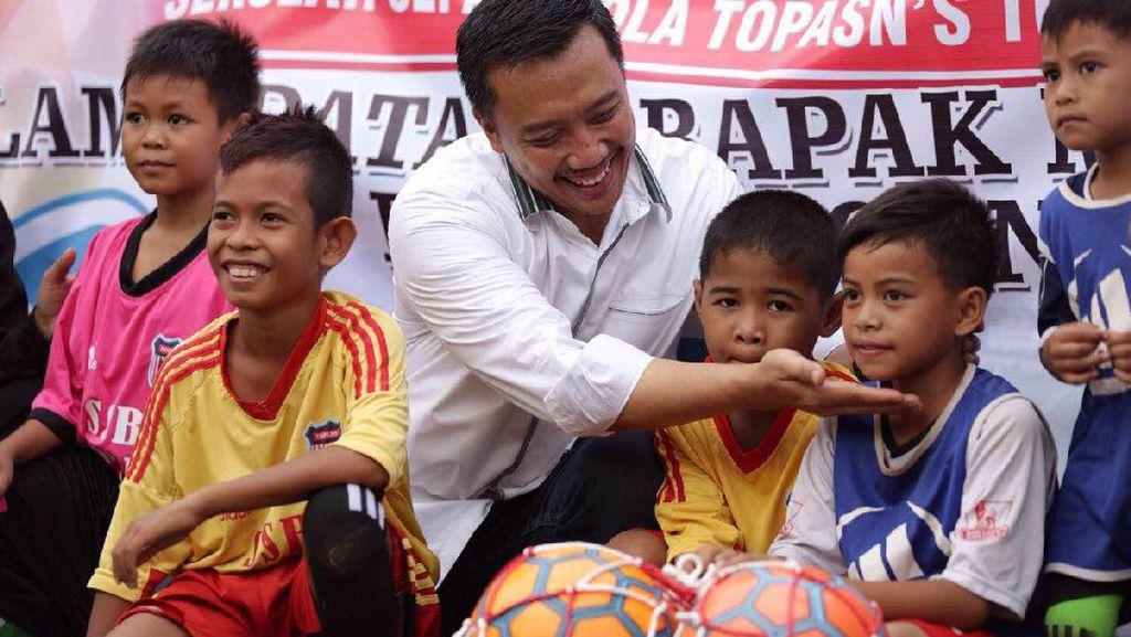 Menebar Bibit Pesepakbola Muda di Timur Indonesia