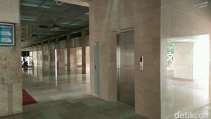 Sambut Raja Salman, Masjid Istiqlal Pasang Lift Baru