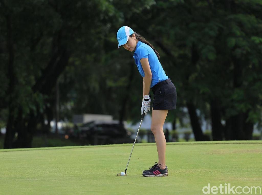 Berharap Beasiswa, Anggika Bolsterli Rutin Ikuti Turnamen Golf