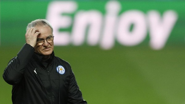 Ranieri Akui Sangat Kaget Dipecat Leicester