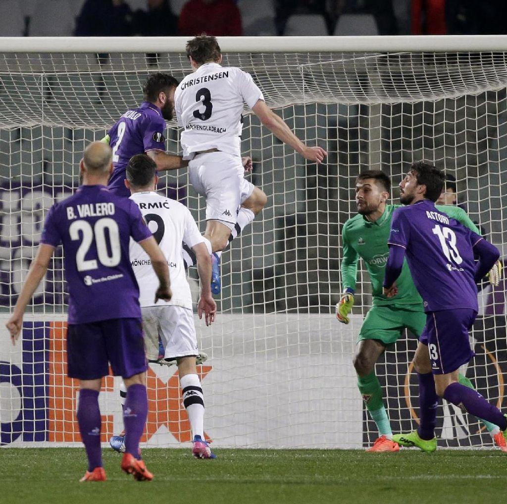 Gladbach Permalukan Fiorentina