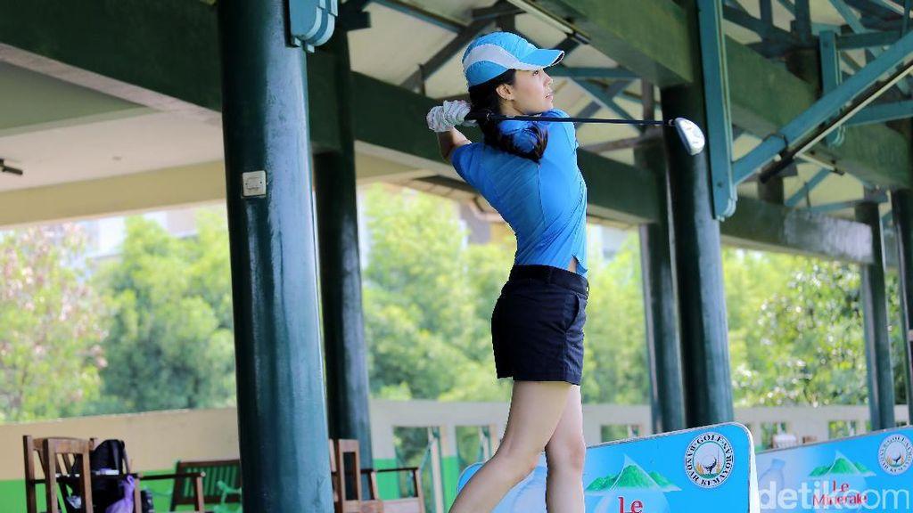 Hole In One! Ikut Anggika Bolsterli Main Golf Yuk!