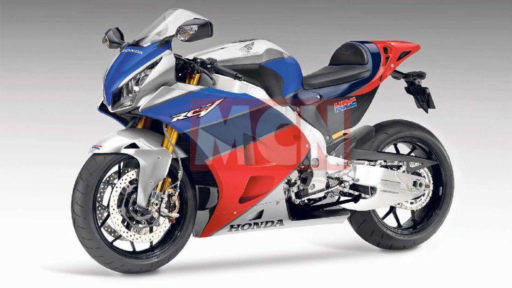 Akhirnya Motor Super Honda Bermesin V4 Muncul ke Permukaan