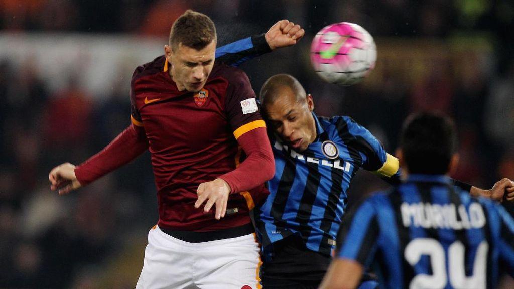 Roma Diancam Inter yang Sedang Kuat-Kuatnya