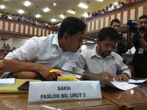 Saksi Paslon 5 Keberatan, Pleno KIP Aceh Dilanjutkan