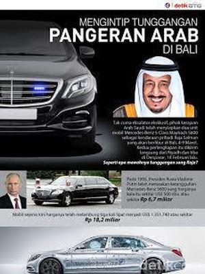 Mengintip Tunggangan Pangeran Arab di Bali