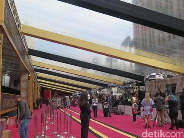 Antisipasi Cuaca, Panitia Pasang Atap Buatan di Karpet Merah Oscar 2017