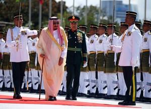 Raja Salman Mampir di Malaysia