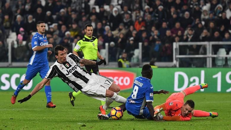 Kemenangan Tipis Juventus vs Empoli 2-0