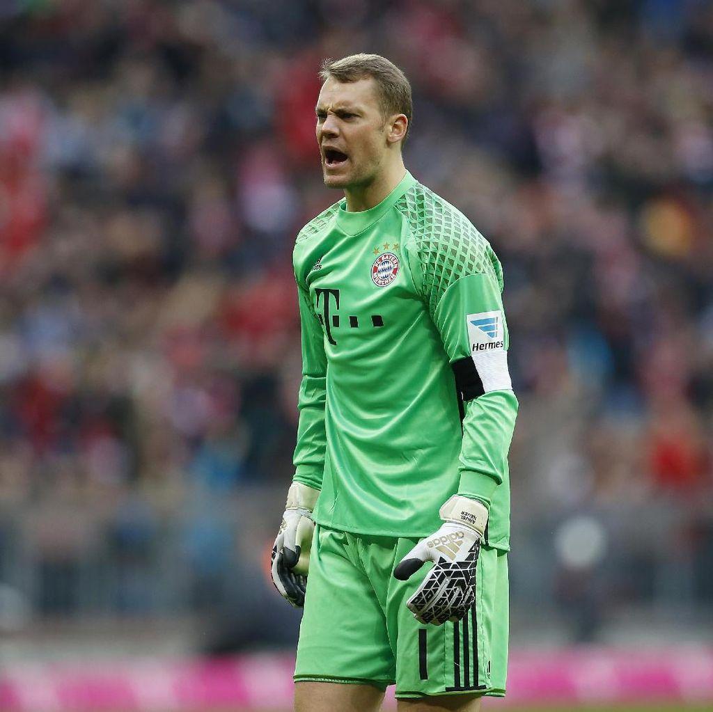 Neuer Sudah 100 Kali <i>Clean Sheet</i> bersama Bayern di Bundesliga