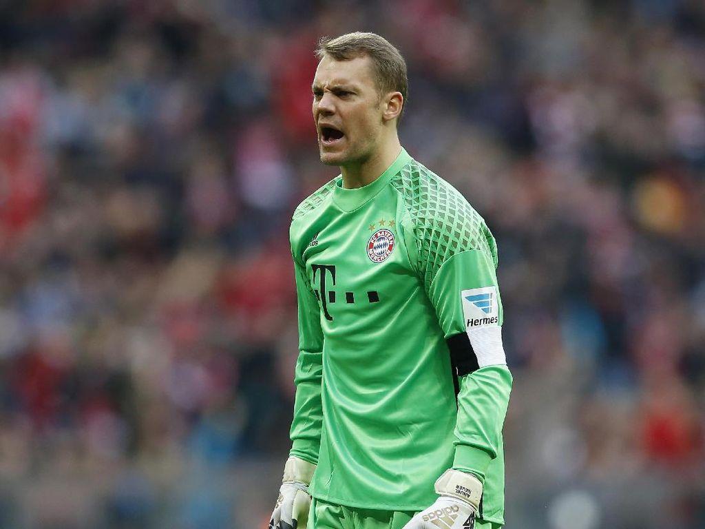 Neuer Sudah 100 Kali Clean Sheet bersama Bayern di Bundesliga