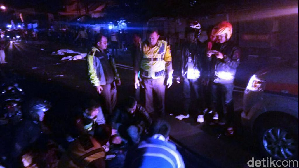 2 Motor Terlibat Kecelakaan di Sukabumi, 2 Orang Tewas di Tempat